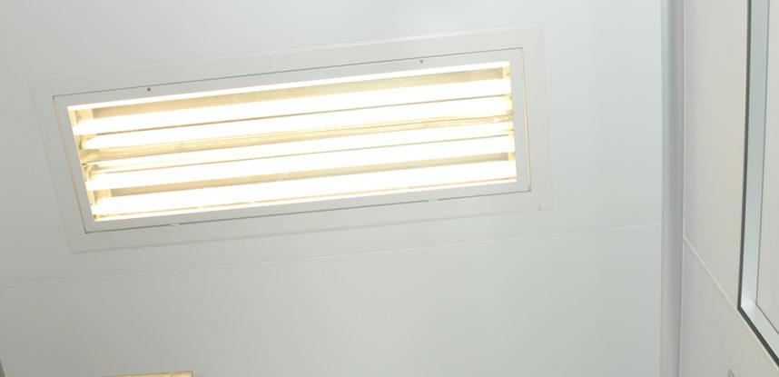 Luminária 4x32w